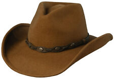 SCALA WESTERN SHAPEABLE OUTBACK WITH CONCHOS - DFW18