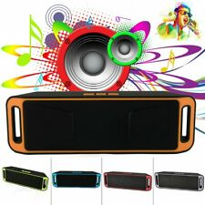 Portable Wireless Bluetooth V3.0 Speaker USB FM Radio Stereo Rechargable Speaker