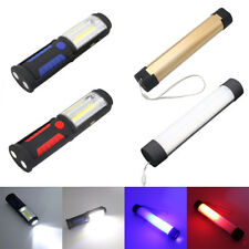 New LED WorkLight Inspection Lamp Hand Tool Garage Outdoor Torch Flashlight