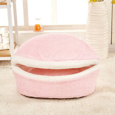 Dog Bed Nest Cat Kitty House Kennel Pet Nesting Bed Soft Removable Bed Small