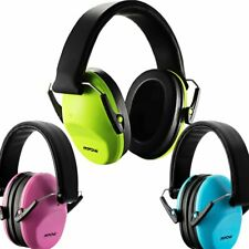 Mpow Kids Ear Muff Hearing Protection For Hunting Loud Noise Reduction 29dB New