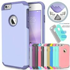 Hybrid Shockproof Rubber Hard Plastic PC Cover Case Skin for Apple iPhone 5s SE
