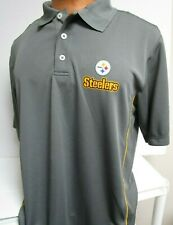 PITTSBURGH STEELERS NFL DRI FIT MENS  GOLF SHIRT POLO NEW PICK SIZE