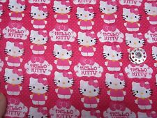 HELLO KITTY--SCRUB HAT /MEDICAL/ YOUR CHOICE IN STYLE-bouffant or ponytail