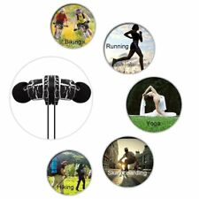 Wireless Bluetooth V4.2 Sport Headset Stereo Headphone Handsfree w/Mic for Phone