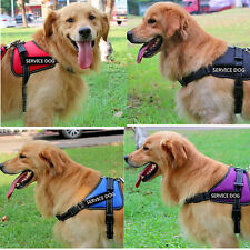 Dog Harness Soft Vest Puppy Pet Collar With Reflective Patches Medium Large Dog
