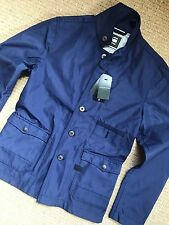 "G-STAR RAW TWILIT BLUE ""HUNTER 3D CROPPED BLAZER"" JACKET COAT - SMALL - NEW TAGS"
