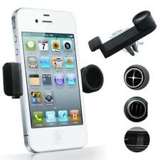 CAR MOUNT AC AIR VENT HOLDER ROTATING CRADLE SWIVEL DOCK for SMARTPHONES