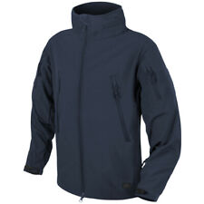 Helikon Gunfighter Mens Jacket Windproof Soft Shell Police Security Navy Blue