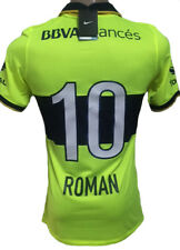 BOCA JUNIORS AWAY SOCCER JERSEY 2014 ROMAN RIQUELME #10 small