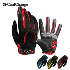 Sports Cycling Gloves Full Finger MTB Bike Bicycle Gloves GEL Padded Shockproof