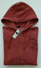 Mens GAP LOGO RUST ZIP UP HOODIE JACKET SWEATSHIRT Size M  - NWT