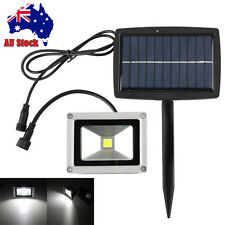 10w Super Bright Solar Power LED Mount Floodlights Outdoor Light Yard Spot Lamp