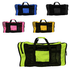 "Mesh Luggage Bag 35""x16"" Large for Diving Snorkeling Scuba Swimming Sports"