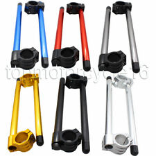 FXCNC Motorcycle 35mm Fork Head Normal Clip On Handle Bars Clip Ons Clip-ons CNC