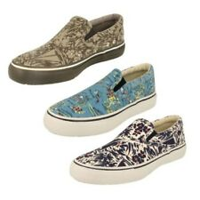 Mens Sperry This Sole Canvas Shoes 'Striper'