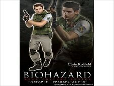 EMS-F/S-Biohazard Resident Evil Chris Redfield Official Costume Set Cosplay