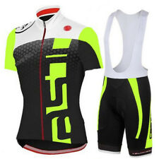 New Men's Cycling Wear Set Jersey Shorts Sports Bib Bicycle Clothing Sport Suit