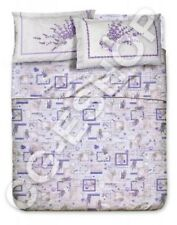 ST SHEETS SINGLE small DOUBLE double LAVENDER PROVENCE