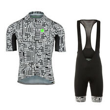 New Sport Cycling Jersey Sets Bike Bicycle Bib Top Short Sleeve Clothing Suits