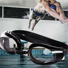Anti fog UV Swimming Swim Goggle Adjustable Glasses+Nose Clip+Ear Plug