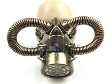 Halloween Steampunk Costume Prom Burning man Respirator Gas Mask Survivair Party