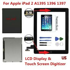 LCD+Touch Screen Digitizer+Tempered Glass Replacement For Apple iPad 2 Wholesale