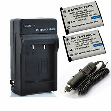 Olympus Li-42b Battery / Rapid Charger for LI-40C FE-20,FE-220,FE-330 340 Camera