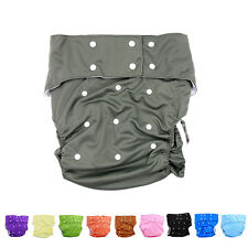 10 Colors Waterproof Teen Adult Cloth Diaper Nappy Pants for Bedwetting EV