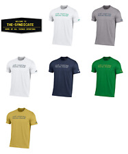 "Under Armour-Men's-NCAA Notre Dame ""God,Country,Notre Dame"" Charged Cotton Tee"