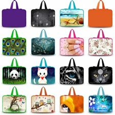 "60+ Designs Laptop Bag Sleeve Case+ Colorful Hide Handle For 14"" 14.1"" 14.5"" PC"