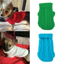 XXXS/XXS Small Chihuahua Dog Sweater Clothes Pet Puppy Cat Hoodie for yorkie Dog