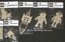 SCRAP FX Chipboard MONSTERS/ROBOTS/SPACE' Embellishments (You choose) Boys