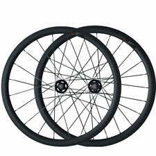 Factory Price Track Fixed Gear 38mm Tubular Carbon Wheels Road Bike Wheelset
