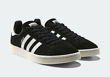 Adidas Campus Black White Suede Mens Shoes New In Box