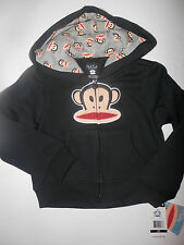 "NWT-Toddler Boys ""PAUL FRANK"" Hooded Jacket-Black Color-MUST SEE--CL"