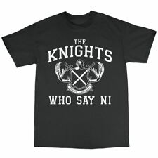 Knights That Say Ni T-Shirt 100% Cotton Monty Python And The Holy Grail