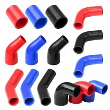"2 1/2"" 63mm Silicone Hose Coupler Turbo Intake Intercooler Pipe Black Blue Red"