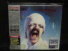SCORPIONS Blackout BSCD2 (BLU-SPEC CD 2) + 4 Deluxe Edition JAPAN CD + DVD MSG