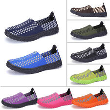Men Women Couples Sports Shoes Hand-woven Casual Running Shoes Trainer Sneakers