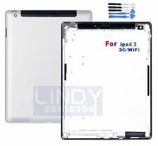 For Ipad 3 4G/ Wif Version A1458 Repairpart Battery Case BackCover Housing Door