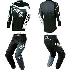 ONeal Element Black motocross MX dirtbike gear - Jersey Pants Kids / Youth Combo