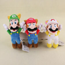 Super Mario Bros. Plush Mario Cosplay Soft Toy Stuffed Animal Doll 8in Gifts