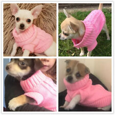 Small Toy Poodle Dog Clothes Knitted Sweater Pet Puppy Hoodie for yorkie maltese