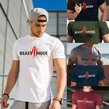 Mens Summer Gyms t shirt Fitness Crossfit  Short Sleeve workout Casual Tank Tops