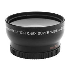 52mm 0.45X Fisheye Wide Angle Macro Lens for Nikon D3200 D3100 D5200 D5100 @UP