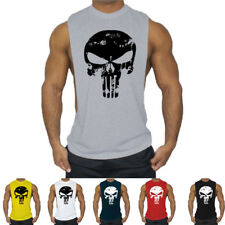 Men gyms Tank Top Bodybuilding Sleeveless Casual Shirts fitness Crossfit vest