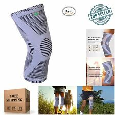 Compression Knee Elastic Sleeve Support Wrap Brace Protection Breathable