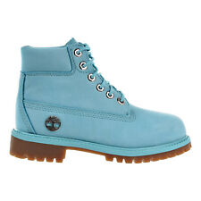 Timberland 6 Inch Premium Little Kid's Boots Blue tb0a1jne