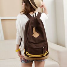 Girls School Backpacks Pig Nose Canvas Book Bags Boys Bar Men Satchel Daypack
